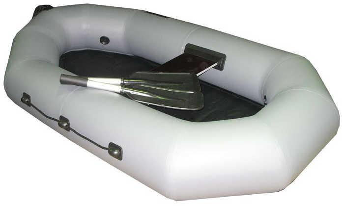 Одноместные и полуторные надувные гребные лодки Пеликан Лодка гребная надувная Пеликан-200 (ПВХ, однослойное дно)
