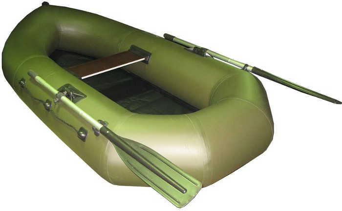 Одноместные и полуторные надувные гребные лодки Пеликан Лодка гребная надувная Пеликан-242 (ПВХ, однослойное дно)