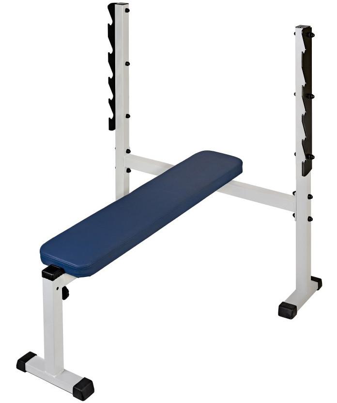 Скамьи, стойки и атлетические центры со свободной нагрузкой MironFit (Рекорд) Скамья для жима, Rk-02