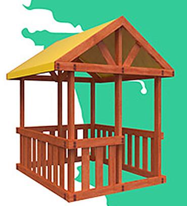 Прочее оборудование для детских площадок и игровых центров Самсон Детская игровая площадка ГОА