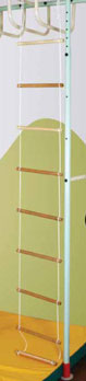 Навесное оборудование и дополнения для спортивных комплексов ТМК Веревочная лестница для ДСК