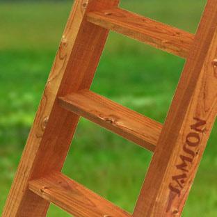 Навесное оборудование и дополнения для спортивных комплексов Самсон Лестница с деревянными ступенями, дополнительная комплектация к детским деревянным площадкам Самсон