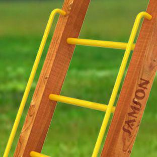 Навесное оборудование и дополнения для спортивных комплексов Самсон Перила металлические, дополнительная комплектация к детским деревянным площадкам Самсон