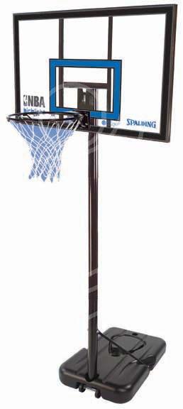Мобильные стойки для баскетбола и стритбола Spalding 77455CN, Баскетбольная стойка NBA Gold Highlight 42