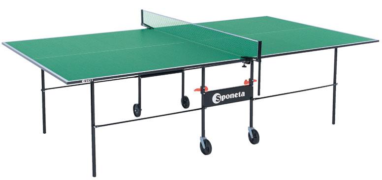 Любительские теннисные столы для внутренних помещений Sponeta S1-04i / S1-05i, Стол для настольного тенниса для внутренних помещений Hobby Indoor с сеткой