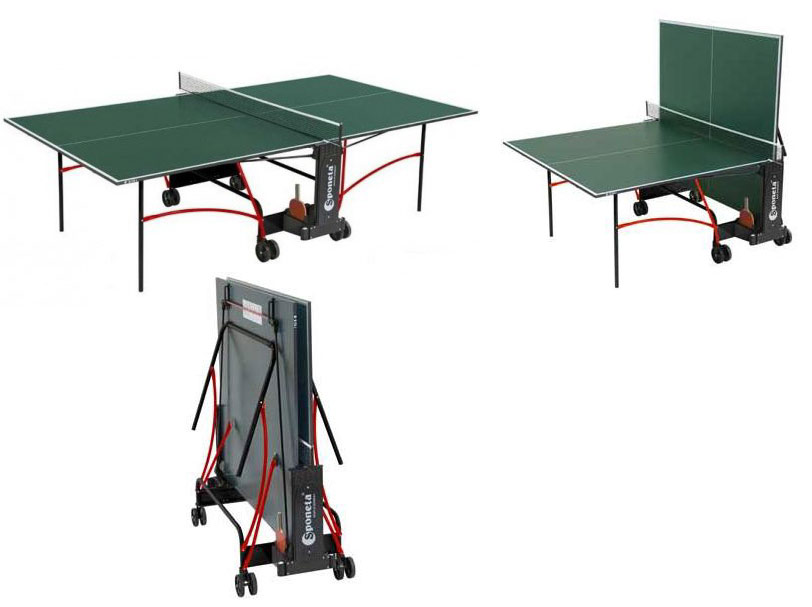 Любительские теннисные столы для внутренних помещений Sponeta S2-72i, Стол для настольного тенниса для внутренних помещений