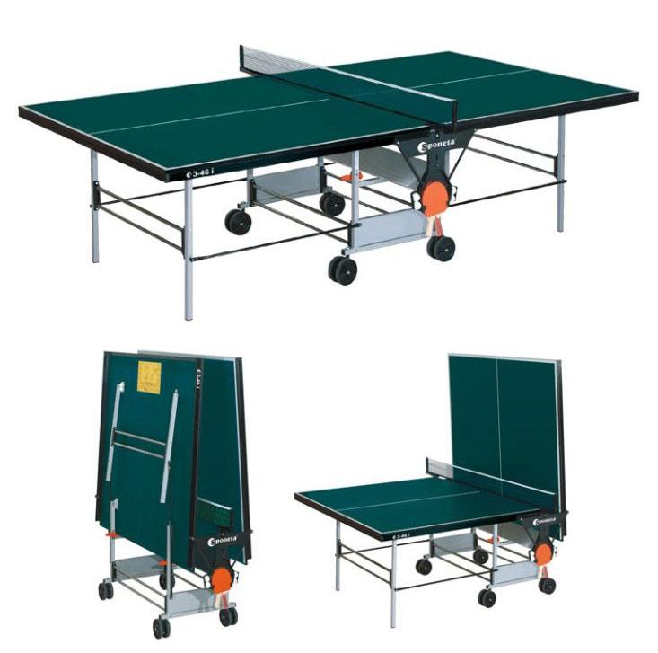 Любительские теннисные столы для внутренних помещений Sponeta S3-46i, Стол для настольного тенниса для внутренних помещений