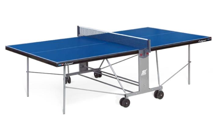 Любительские теннисные столы для внутренних помещений Start Line 6042, Стол для настольного тенниса для внутренних помещений Compact с сеткой