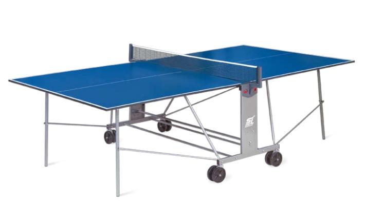 Любительские теннисные столы для внутренних помещений Start Line 6041, Стол для настольного тенниса для внутренних помещений Compact Light с сеткой