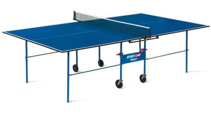 Любительские теннисные столы для внутренних помещений Start Line 6020, Стол для настольного тенниса для внутренних помещений Olympic без сетки