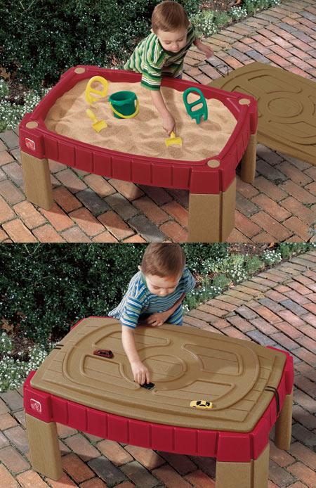 Прочее оборудование для детских площадок и игровых центров Step 2 759400 Стол для игр с песком