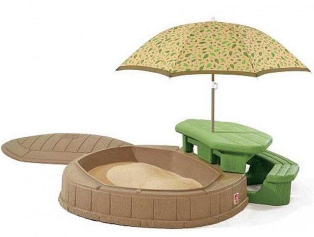 Песочницы Step 2 788900 / 843700 Песочница со столиком