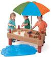 Step 2 800300 Столик для игр с водой и песком (цветной)