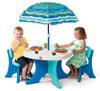 Step 2 800500 / 834700 Столик со стульями и зонтом