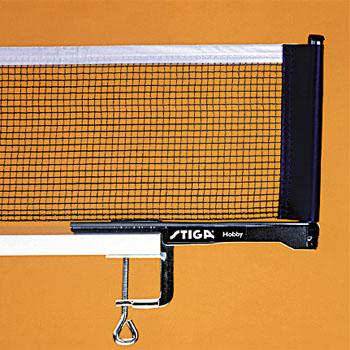 Сетки для настольного тенниса Stiga 6131-00, Сетка Хобби (Hobby) с креплением