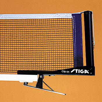 Сетки для настольного тенниса Stiga 6134-00, Сетка Клип Он (Clip On) с креплением