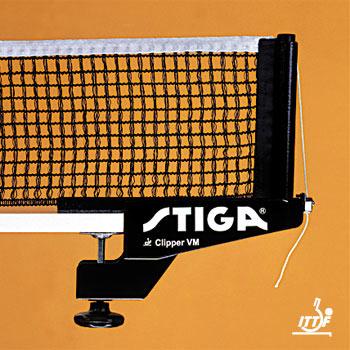 Сетки для настольного тенниса Stiga 6113-00, Сетка Клиппер ВМ (Clipper VM) с креплением