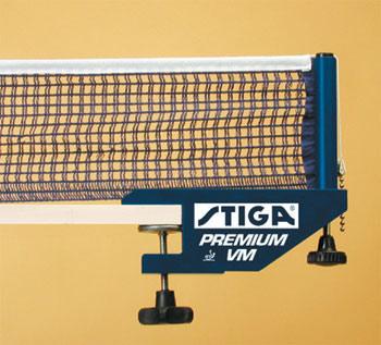 Сетки для настольного тенниса Stiga 6395-00, Сетка Премиум ВМ (Premium VM) с креплением