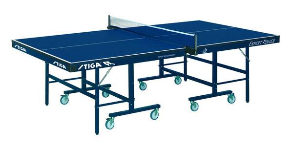 Профессиональные и тренировочные теннисные столы Stiga 7190-05, Теннисный стол складной Эксперт Роллер (Expert Roller CSS) ITTF, синий