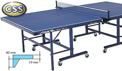 Профессиональные и тренировочные теннисные столы Stiga 5226-00, Теннисный стол тренировочный складной Приват Роллер (Privat Roller) синий