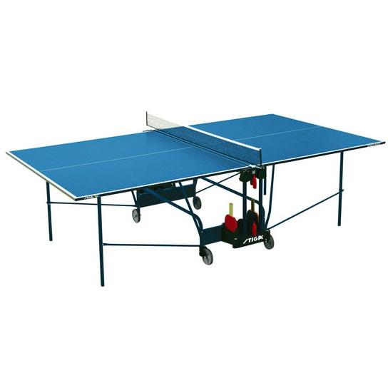 Любительские теннисные столы для внутренних помещений Stiga 7168-05, Теннисный стол Виннер Индор (Winner Indoor CS) с сеткой (синий)