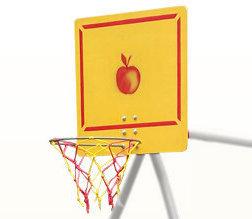 Навесное оборудование и дополнения для спортивных комплексов ТМК Кольцо баскетбольное со щитом, к дачным комплексам и качелям