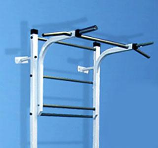 Навесное оборудование и дополнения для спортивных комплексов ТМК Турник-брусья к спортивному комплексу Лидер
