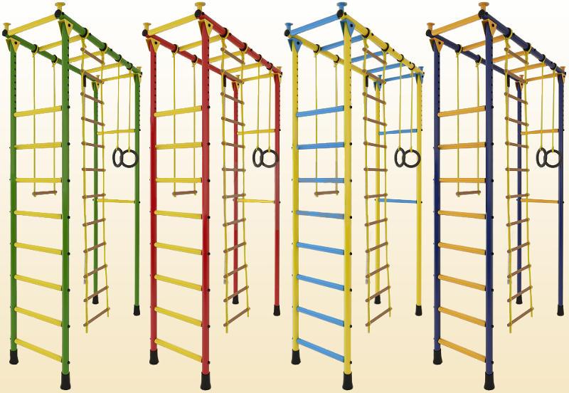 П-образные комплексы (крепление враспор) ТМК Детский спортивный комплекс