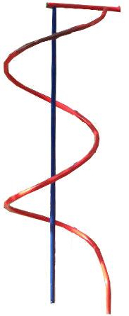 Навесное оборудование и дополнения для спортивных комплексов ТМК Спираль для лазанья для дачных спортивных комплексов