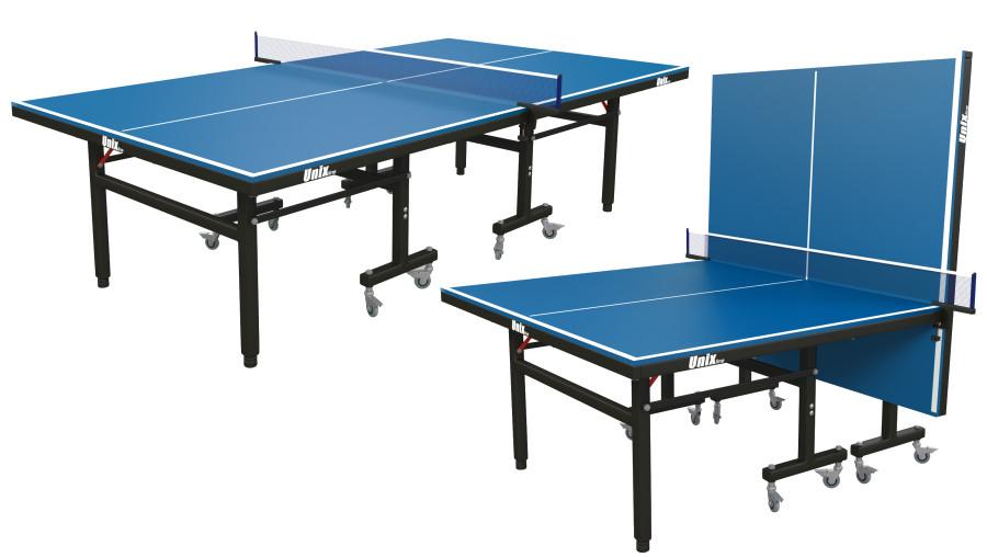 Всепогодные и влагостойкие теннисные столы Unix Теннисный стол всепогодный Unix Line, blue (синий)