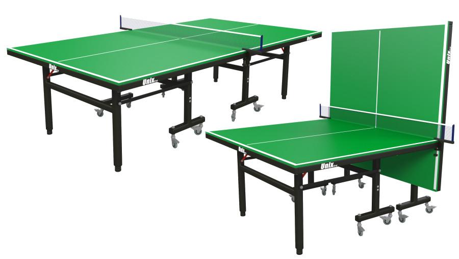 Всепогодные теннисные столы Unix Теннисный стол всепогодный Unix Line, green (зелёный)