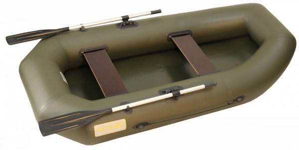 Двухместные надувные гребные лодки Вельбот  Лодка Камыш-2500 гребная надувная