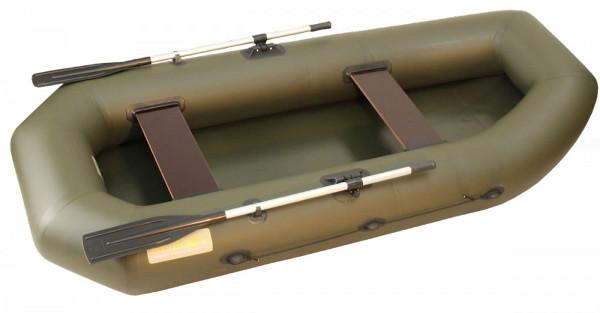 Двухместные надувные гребные лодки Вельбот  Лодка Камыш-2700 гребная надувная