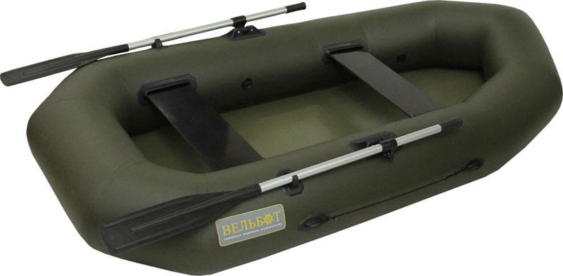 Двухместные надувные гребные лодки Вельбот  Лодка Вуд-2У (Вуд-2U) гребная надувная