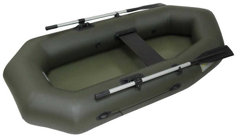 Одноместные и полуторные надувные гребные лодки Вельбот  Лодка гребная надувная Вуд 1,5Е