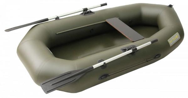 Одноместные и полуторные надувные гребные лодки Вельбот  Лодка гребная надувная Вуд-1.5Д (Вуд-1.5D)