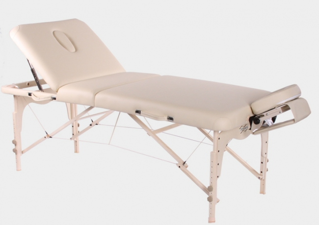 Массажные столы Vision Fitness Складной массажный стол Juventas Deluxe