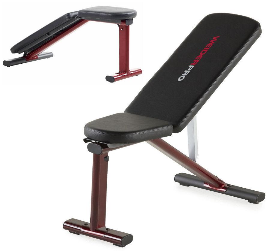 Скамьи, стойки и атлетические центры со свободной нагрузкой Weider Силовая скамья Pro Multi-Purpose Utility Bench, 15927