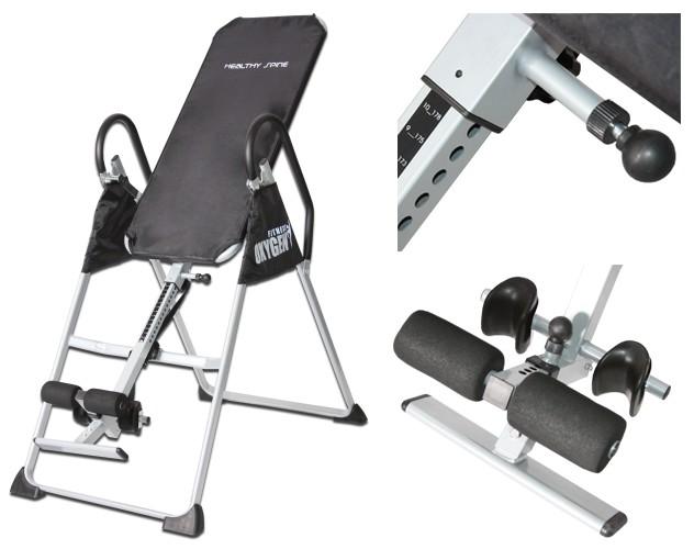 Гиперэкстензии и тренажёры для спины Oxygen Fitness Инверсионный стол Healthy Spine