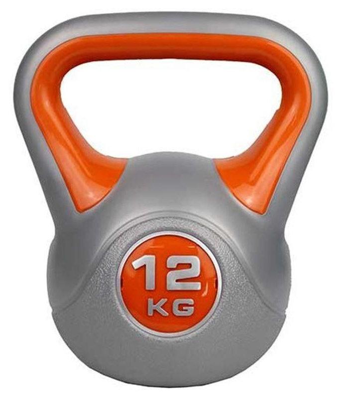 Гири ZS-Sports Гиря 12 кг с пластиковым покрытием, ZS-12