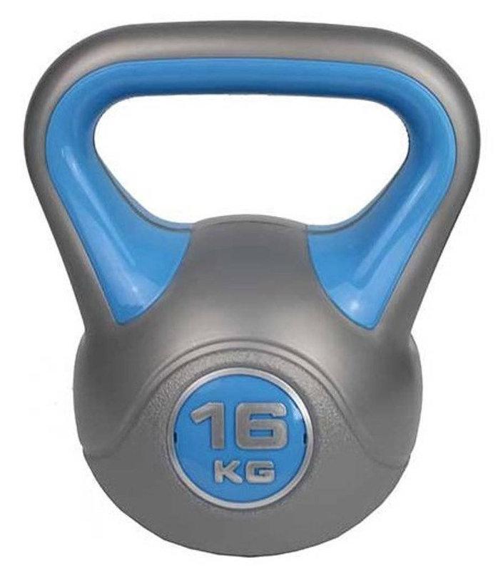 Гири ZS-Sports Гиря 16 кг с пластиковым покрытием, ZS-16