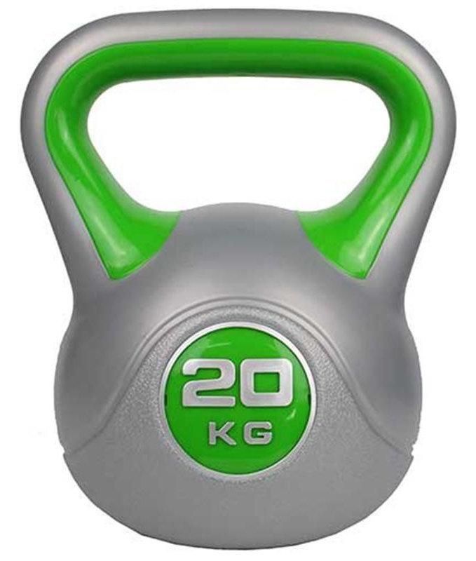 Гири ZS-Sports Гиря 20 кг с пластиковым покрытием, ZS-20